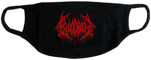 Bloodbath Logo Face Cover