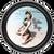 """Stash Tins - Bettie Page Sand 3.5"""" Round Storage Container"""