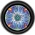 "Stash Tins - Peyote Mandala 3.5"" Round Storage Container - Mike Dubois"