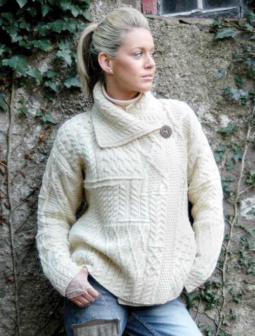 cc7c177e5af Aran Knitwear, cable knit, cardigan, Irish sweaters | Glenaran