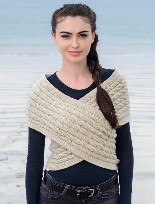 Authentic Wool Ponchos, Wool Capes & Wool Shawls From Glenaran