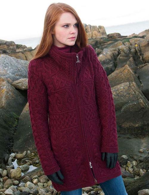 Womens Irish Sweaters Amp Aran Cardigans Free Express