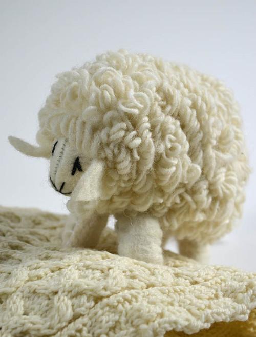23de20f2e7a Aran Wool Sheep Toy