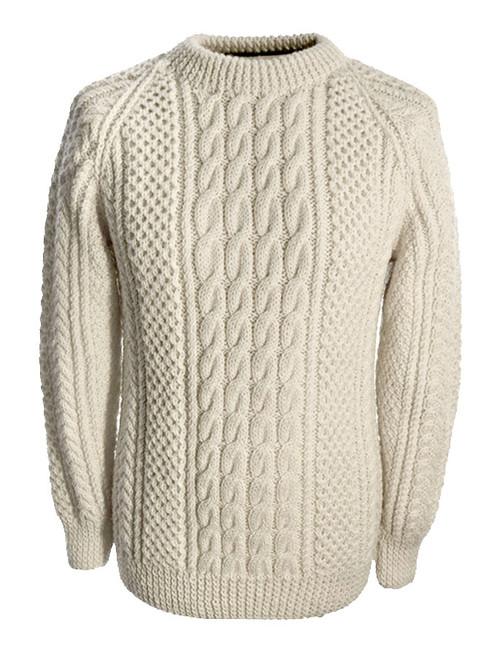 Fisherman Sweater Irish Sweaters Glenaran