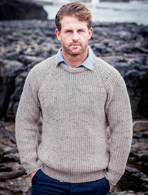 6d2207db6 Premium Clan Aran Sweater - Fisherman Sweater