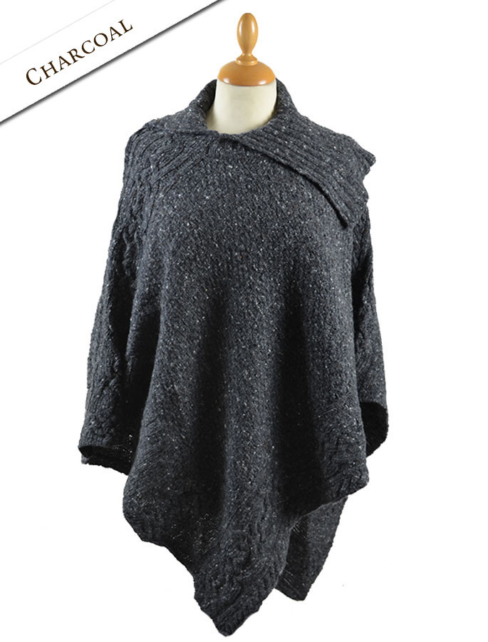 e01cfd068 sweater poncho for women, wool poncho for women | Glenaan