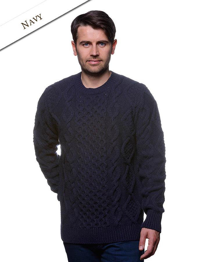 43c820c81 Aran Cabled Sweater- Fisherman Sweater