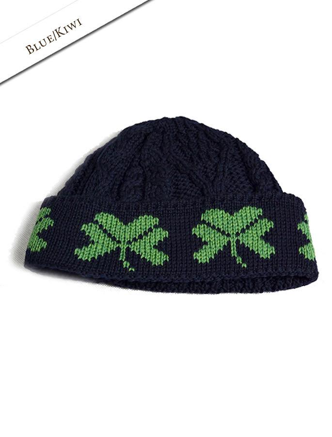 715769c28 Merino Wool Shamrock Hat