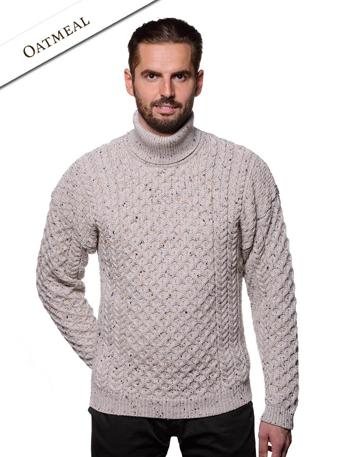 22a4bbb048d0 Mens Wool Turtleneck Sweater