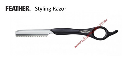 FEATHER Styling Razor - Black