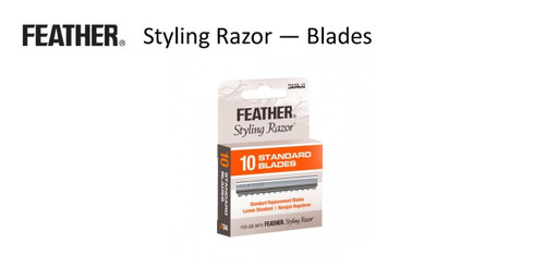 FEATHER Styling Razor Blades pk 10