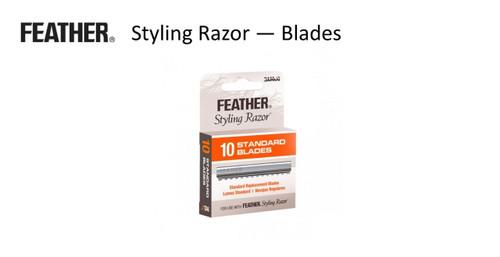 FEATHER Styling Razor Blades pk 10