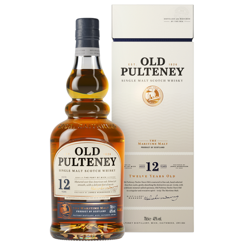 Old Pulteney 12YO Single Malt 700mL
