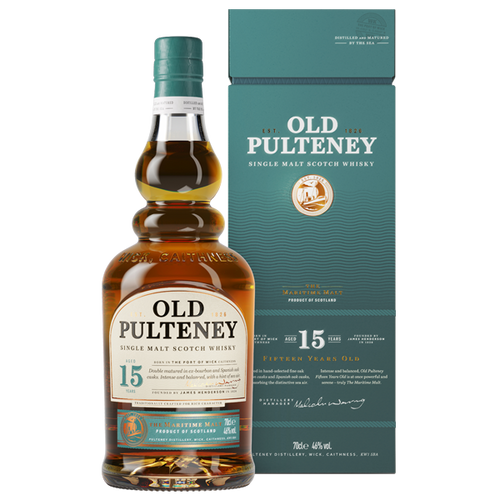 Old Pulteney 15YO Single Malt 700mL