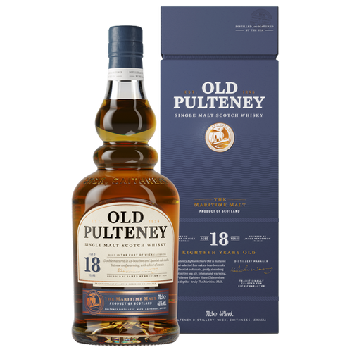 Old Pulteney 18YO Single Malt 700mL