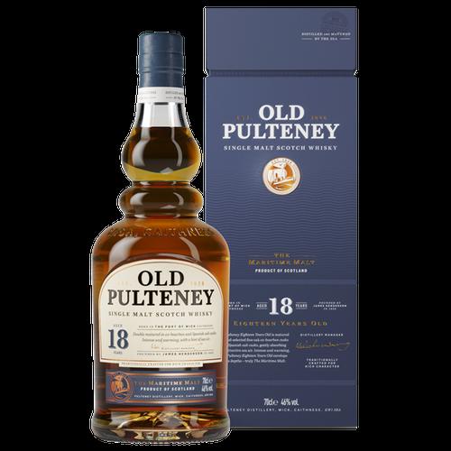 Old Pulteney 18YO Single Malt 700mL