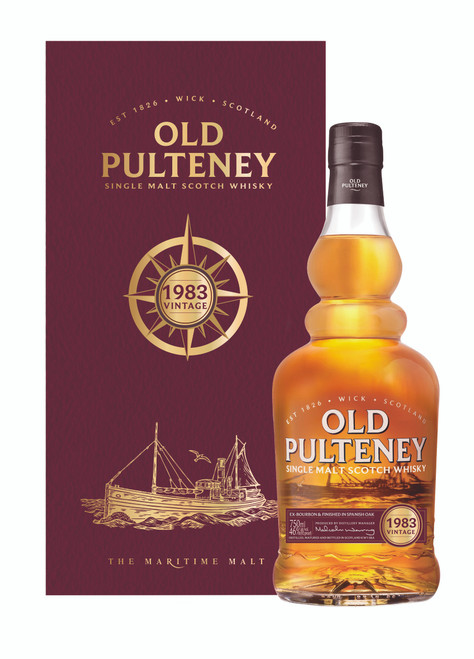 Old Pulteney 1983 Single Malt 700mL