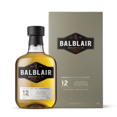 Balblair 12YO Single Malt 700mL