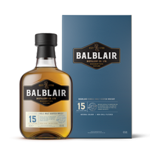 Balblair 15YO Single Malt 700mL