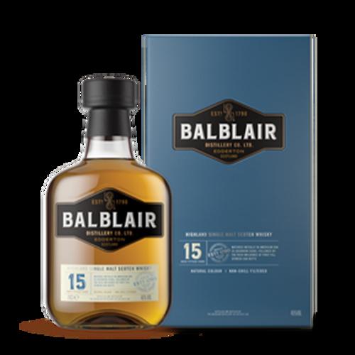 Balblair 15YO Single Malt 700mL