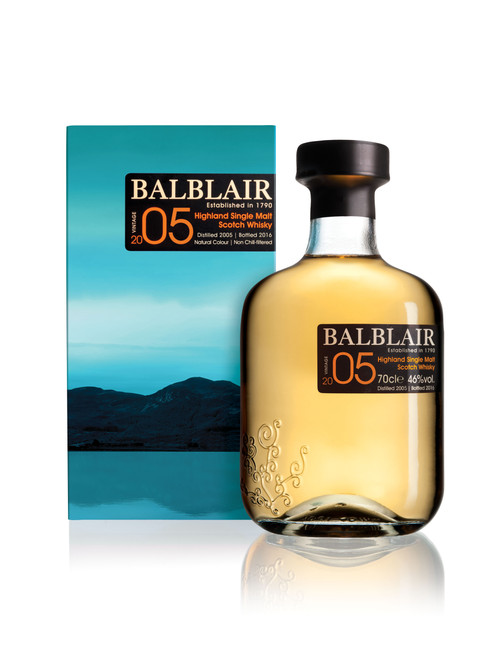 Balblair 2005 Single Malt 700mL