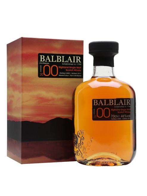 Balblair 2000 Single Malt 700mL