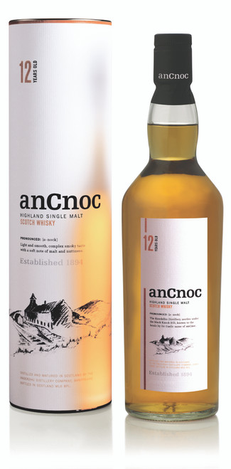 AnCnoc 12YO Single Malt 700mL