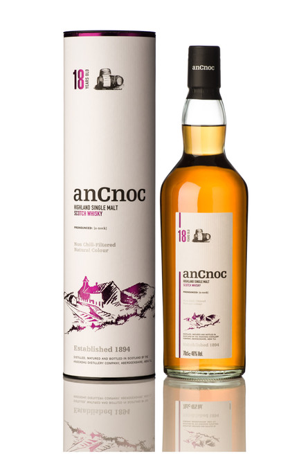 AnCnoc 18YOSingle Malt 700mL