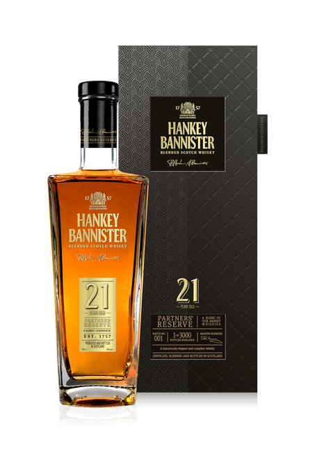 Hankey Bannister 21YO Blended Whisky 700mL