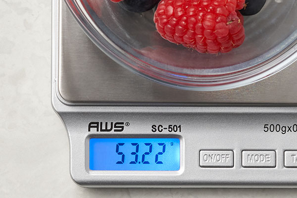 Our Food Scales Supercharge Your Weight Loss Goals!