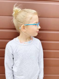 Kids Blue Light Blocking Glasses: Blue