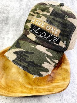Love Lindsey Custom Hat Series: Camo Be The One