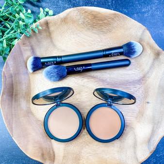 Love Lindsey  Bronzer And Brush Set  Bundle