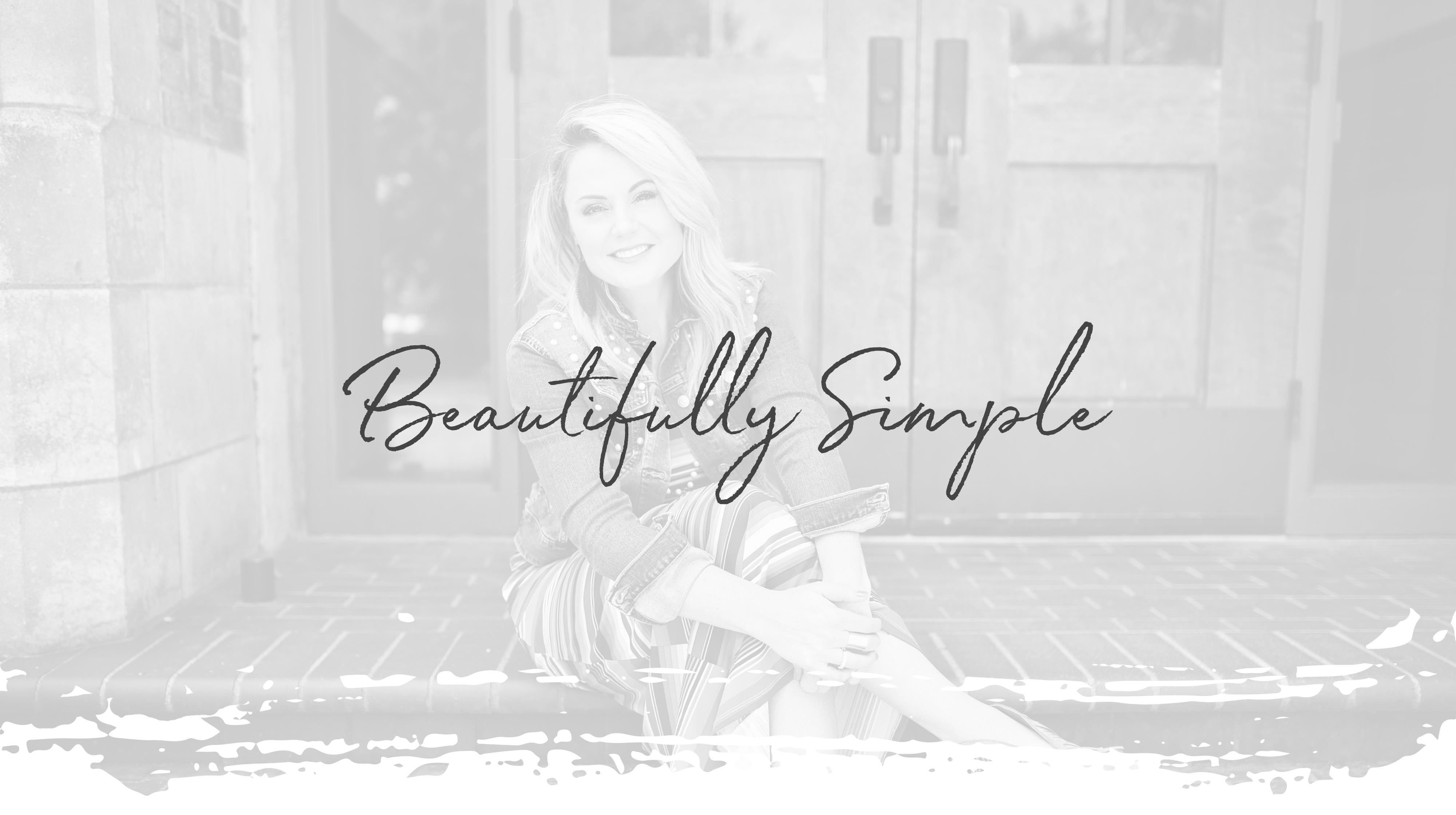 Love Lindsey Beautifully Simple