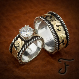 Wedding Sets Western Inspired Handcrafted Jewelry