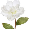 White Magnolia Spray 25""