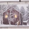 LED Deer and Barn