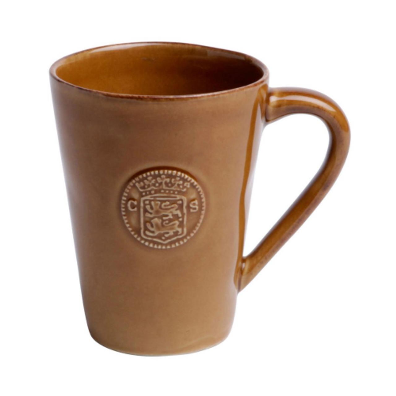 Casa Stone By Casafina cognac mug