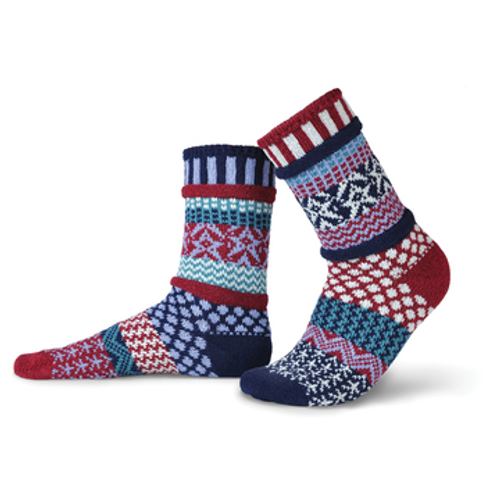 Stars & Stripes Adult Sock-XL