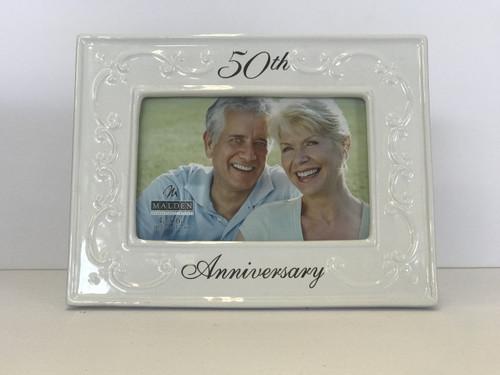 4x6 50th Anniversary Frame