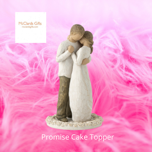 Promise Cake Topper Willow Tree