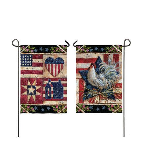 American Folk Quilt Flag
