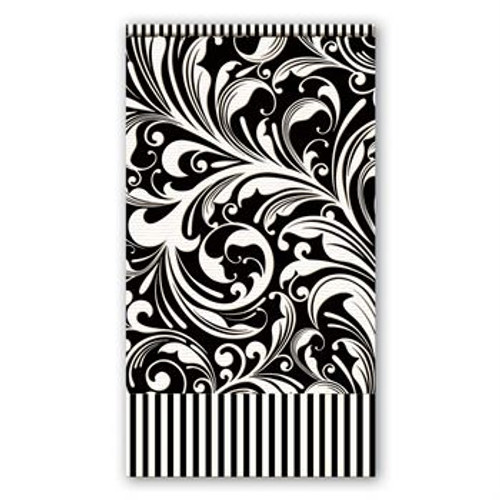 Black florentine Hostess napkins