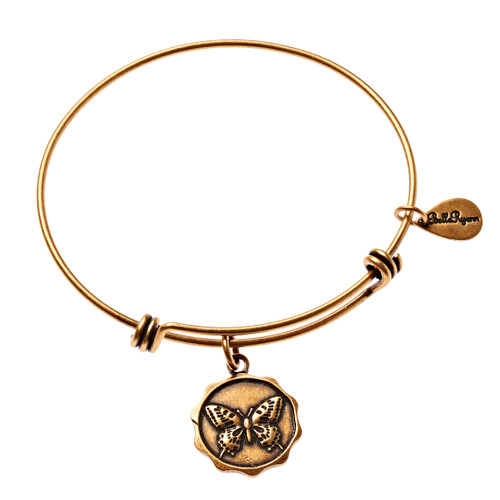 Gold Bangle Butterfly -BR