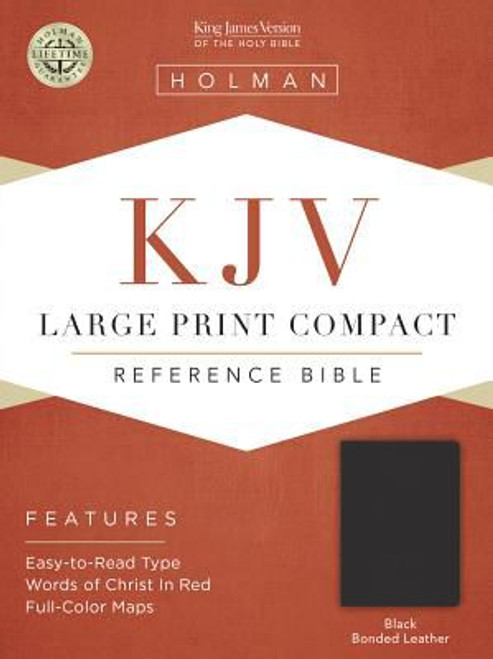 KJV Lg Prt Compact Bible