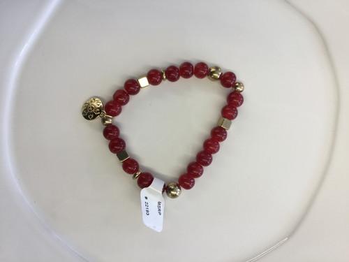 Cherry Berry Stax Bracelet