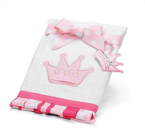 Princess Ribbon Burp Cloth