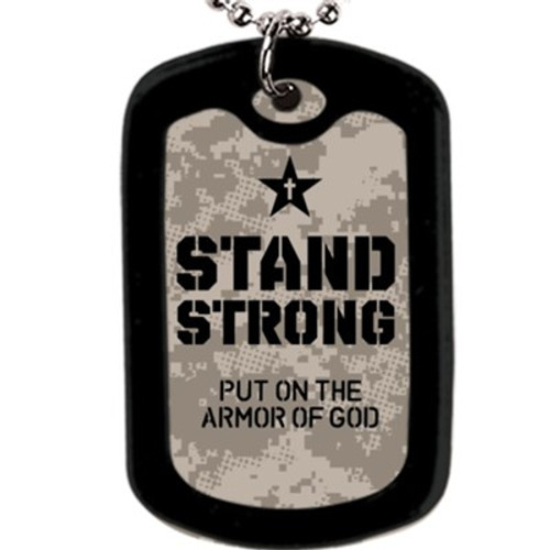 Faith Tag - Stand Strong