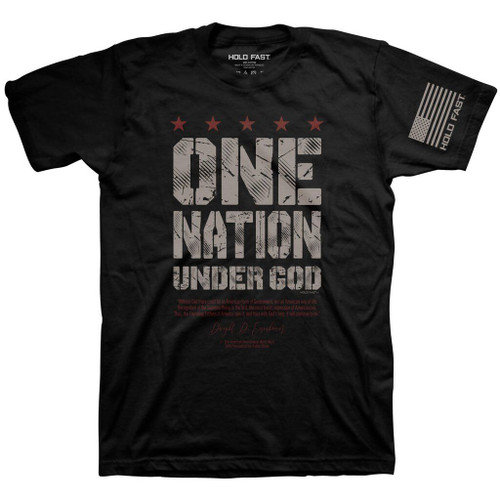 Kerusso Hold Fast T-Shirt One Nation...