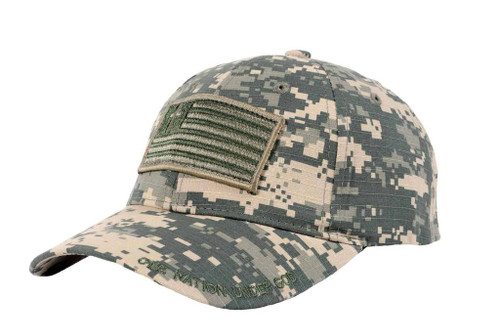 """Military Cap """"One Nation Under God"""""""
